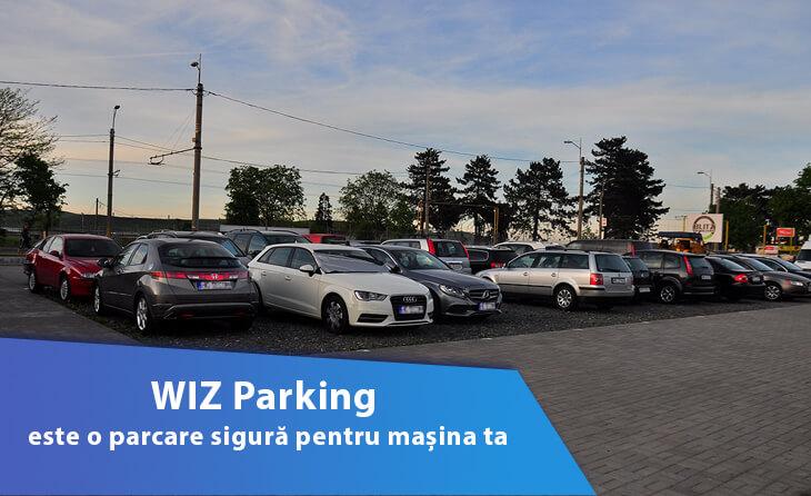WIZ Parking este o parcare sigura