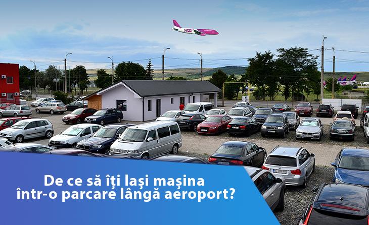 De ce sa iti lasi masina intr-o parcare langa aeroport